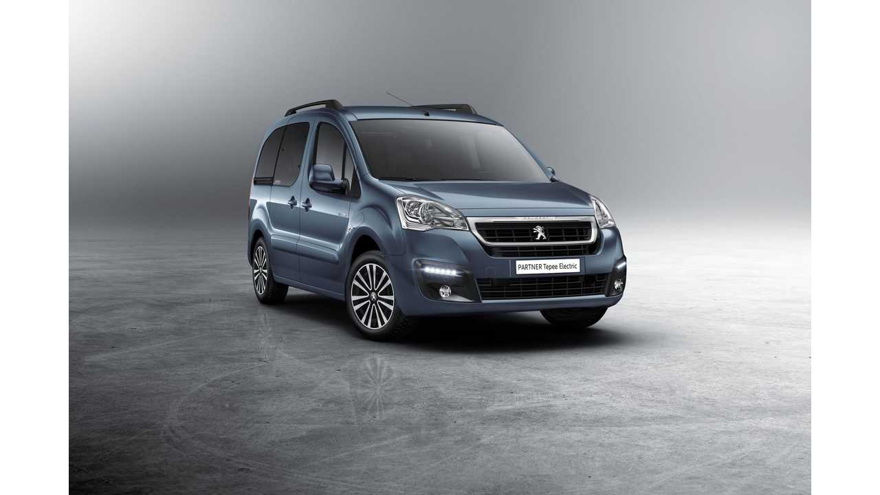 Peugeot Releases Partner Tepee Electric Van Launch Video, If Only It Had A Little More Oompf
