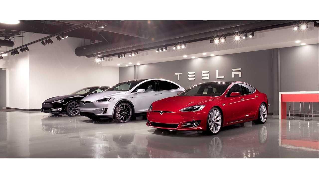 Tesla Model S Model X Fremont showroom
