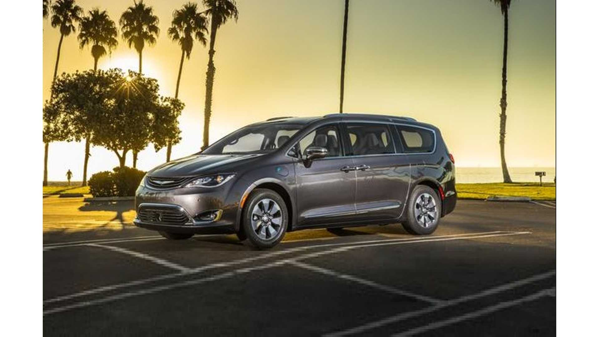 All Chrysler Pacifica Hybrids Recalled