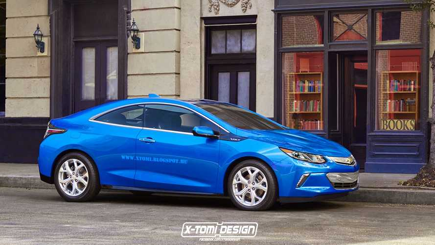 2016 Chevrolet Volt Coupe Gets Rendered