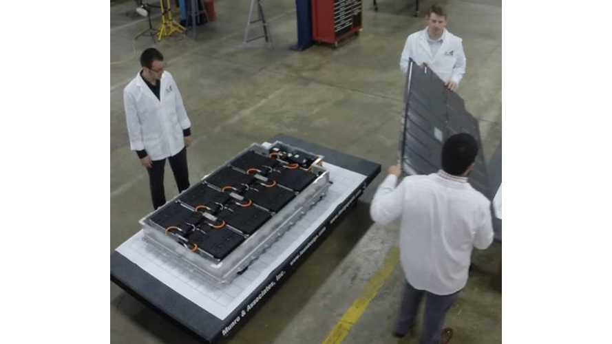 Look Inside BMW i3 Battery Pack - Video