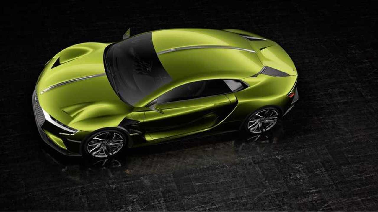 DS Automobiles (Citroën) Announces DS E-TENSE Electric Supercar - Video