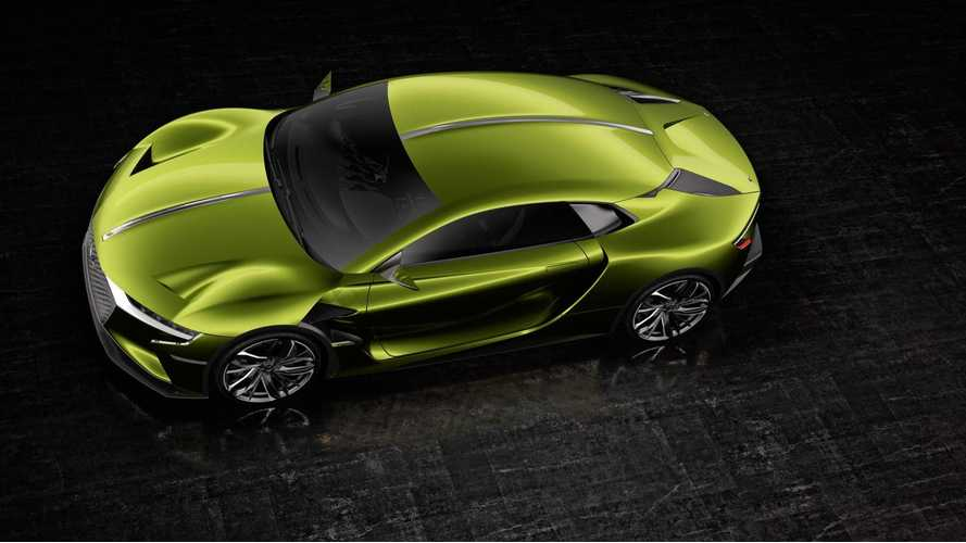 DS Automobiles (Citroën) Announces DS E-TENSE Electric Supercar - Video