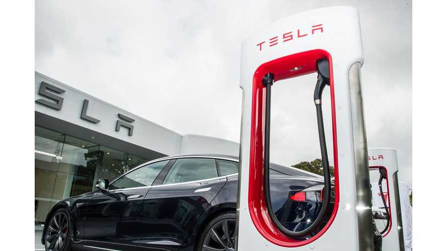 Net Book Value Of Tesla Supercharger Network Is $152.4 Million