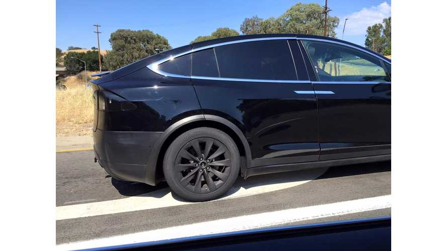 Tesla Model X Spotted - Images