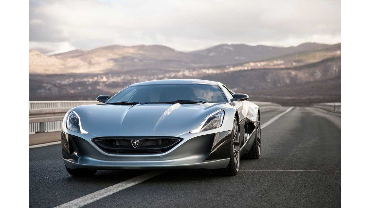 Rimac To Unveil Production Version Of Concept_One In Geneva. Only Eight Will Be Produced