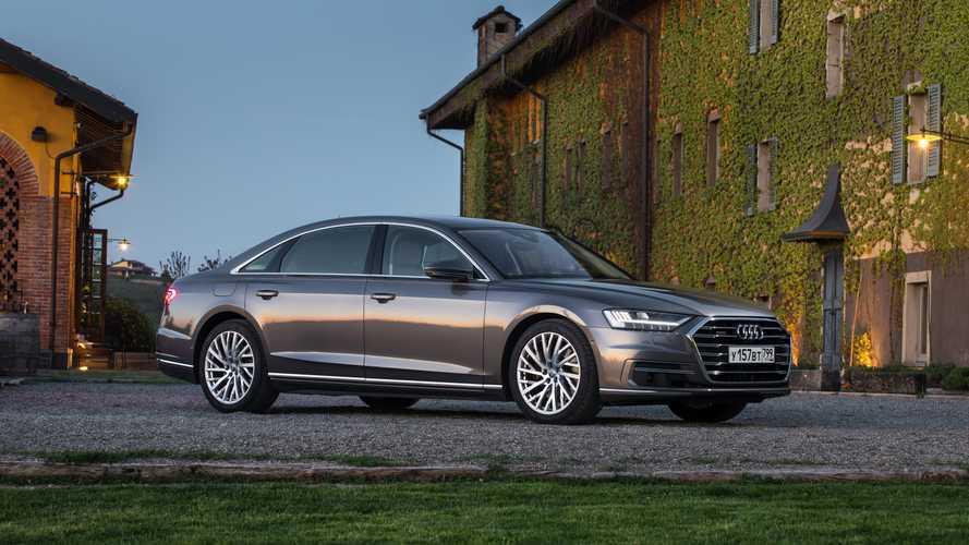 Audi A8 в России получила