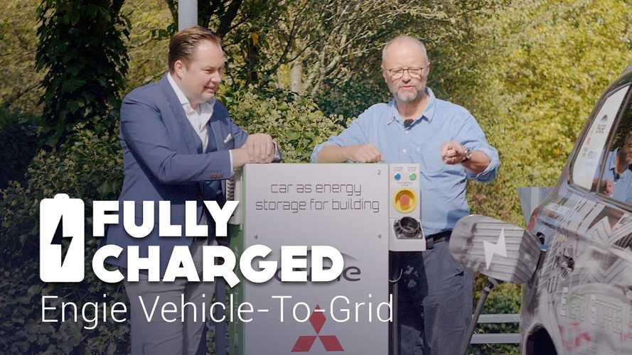Fully Charged Visits Engie Vehicle-To-Grid Pilot Project: Video