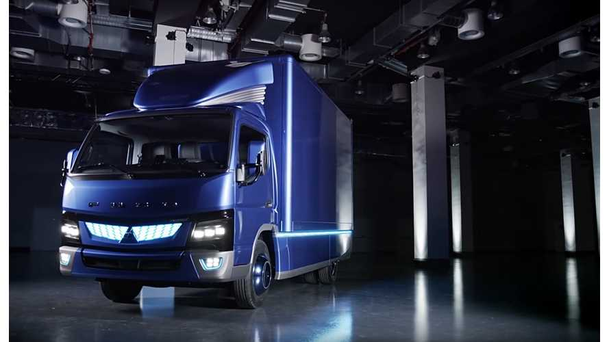 Daimler's New Fuso eCanter Electric Truck To Be Sold In US, Europe And Japan Next Year