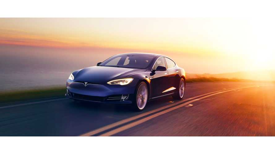 Tesla Model S P100D Sets New 1/4-Mile Electric Car Record - Video