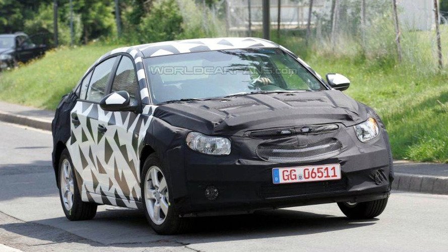 SPY PHOTOS: New Chevy Nubira at Nurburgring