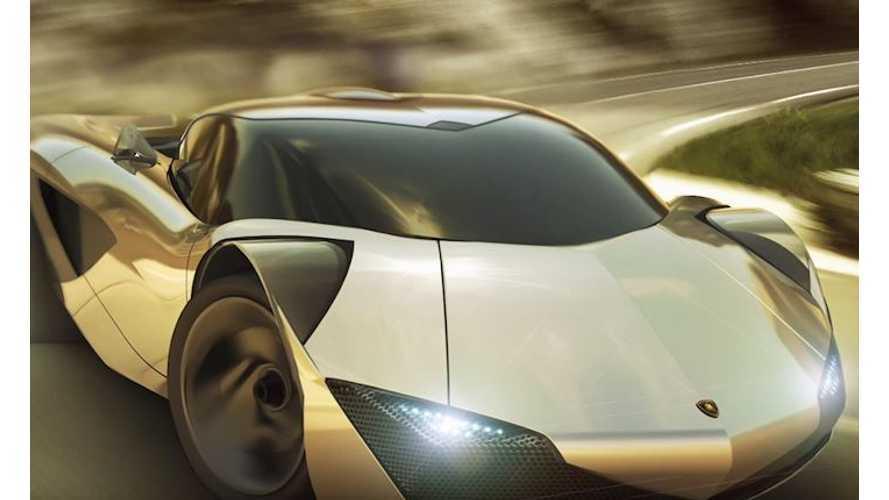 Porsche Mission E-Based Lamborghini Vitola Electric Supercar In The Works (w/video)