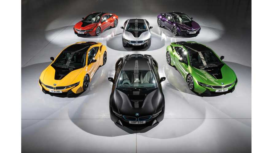 Pure Electric BMW i8 In The Works?