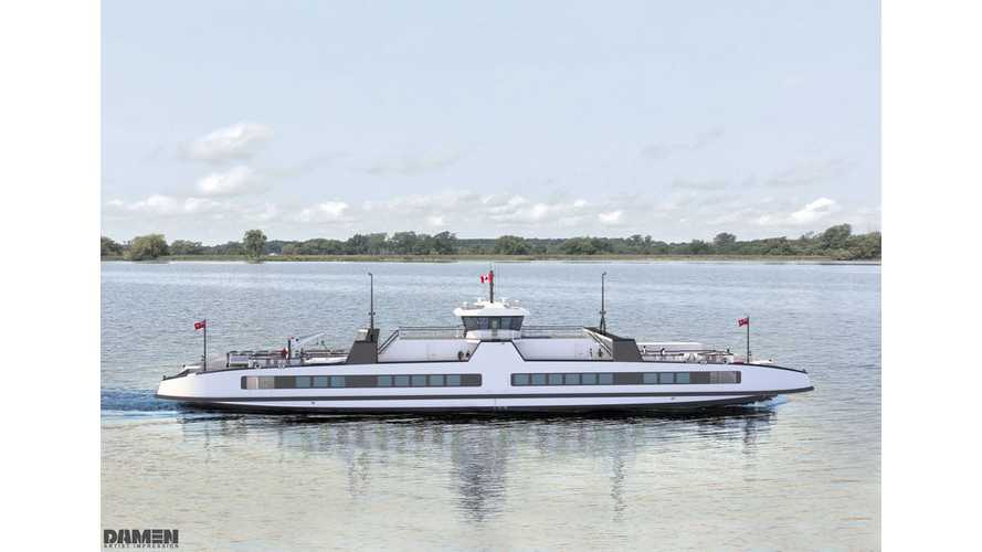 Canada Gets Its First Fully Electric Vessels: 2 Massive Ferries