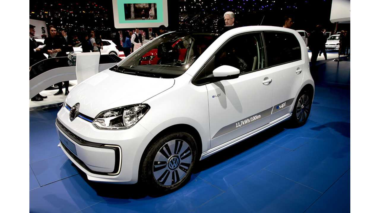 Volkswagen e-up! Now Almost €4,000 Cheaper