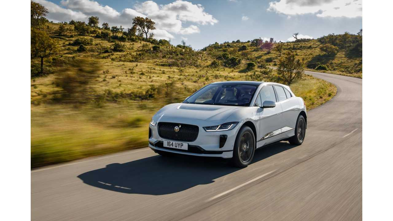 Jaguar I-PACE Is Top Gear's EV Of The Year 2018