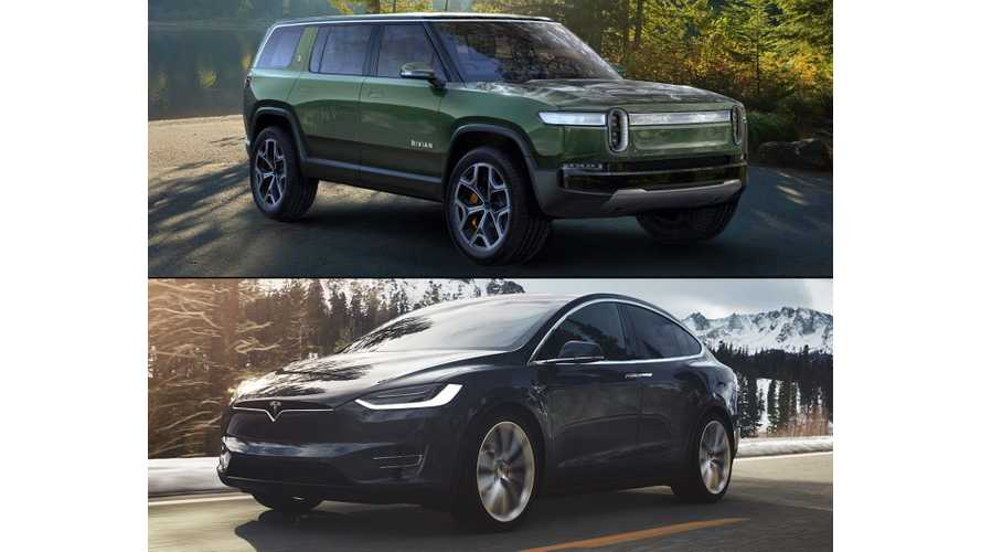 Rivian R1S Versus Tesla Model X: By The Numbers