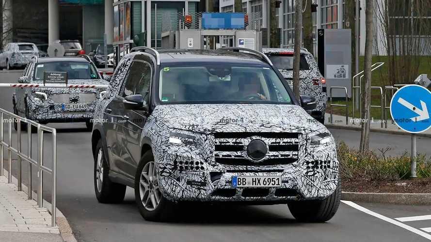 Mercedes GLS foto spia