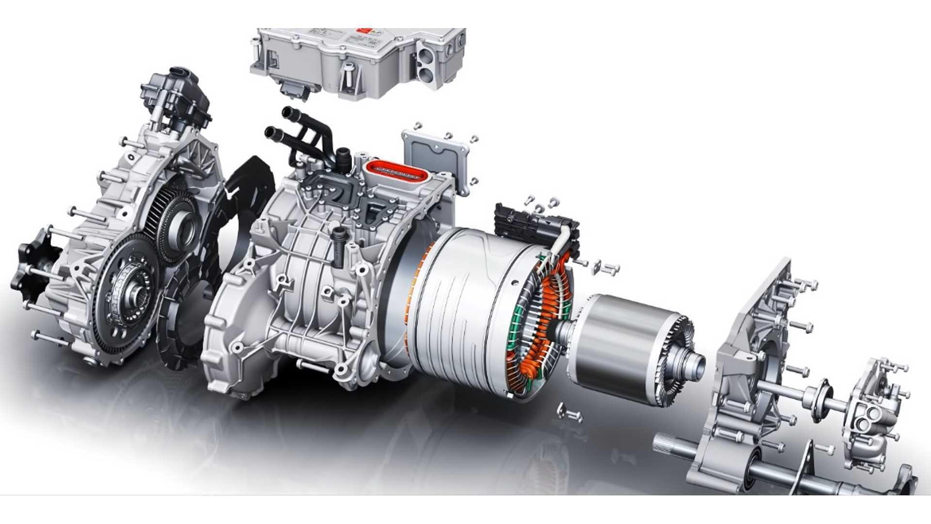 Audi e-tron Electric Motor Explored: Video
