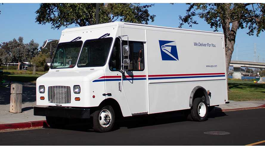 USPS Tests Ford E-450 Based Electric Step Vans From Motiv