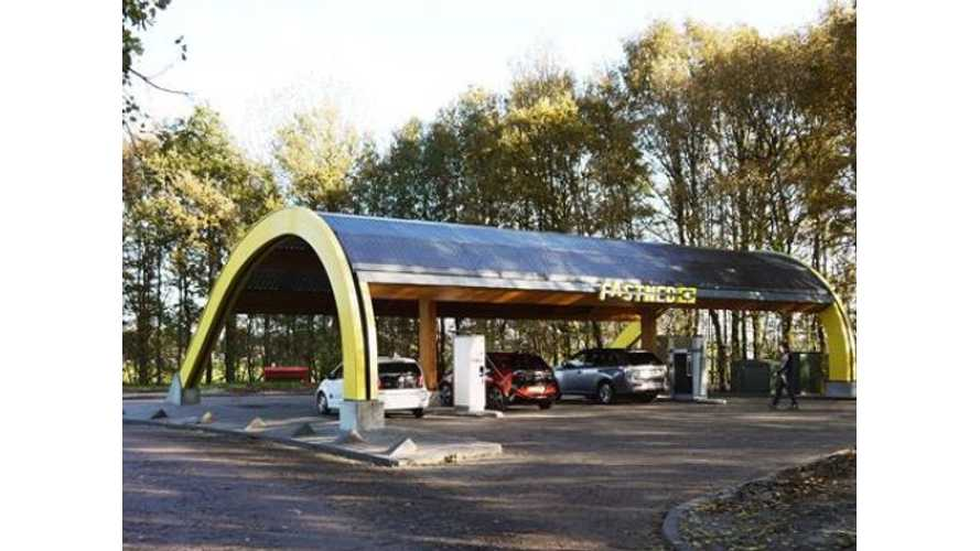 Fastned Fast Charges The Netherlands - Never More Than 31 Miles From A Fast Charger