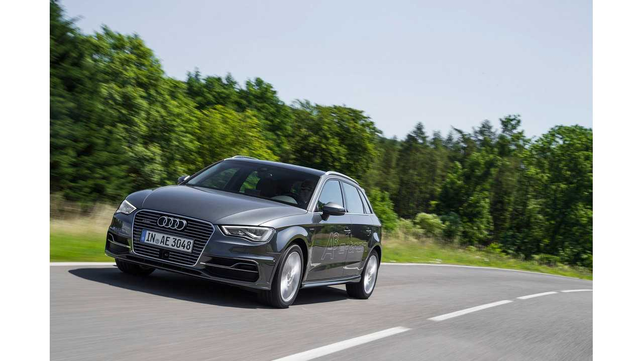 Audi A3 Sportback E-Tron Now On Sale Throughout Europe