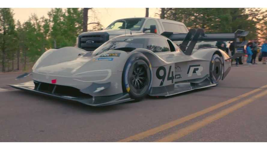 VW Spills Specs, Releases New Video For I.D. R Pikes Peak Racer