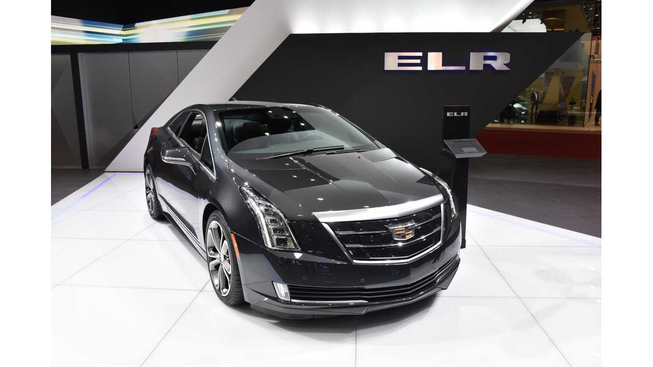 The Refreshed 2016 Cadillac ELR Was Scheduled To Debut (Again) Last Month In Geneva. Only The 2014 Made The Platform