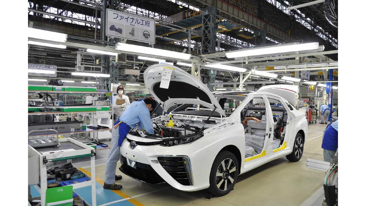 Behind The Scenes Of Toyota Mirai Production - Only 3 Made Per Day - Videos + Images