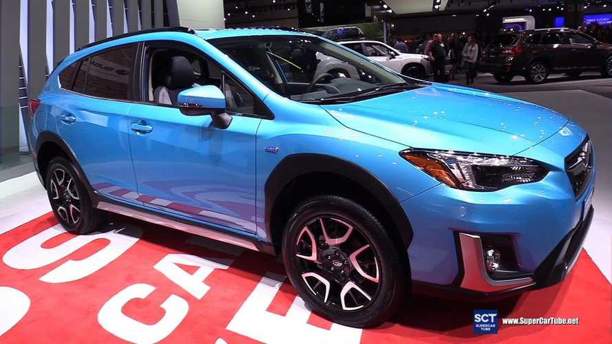 Subaru Crosstrek Hybrid PHEV Debuts At LA Auto Show: Videos