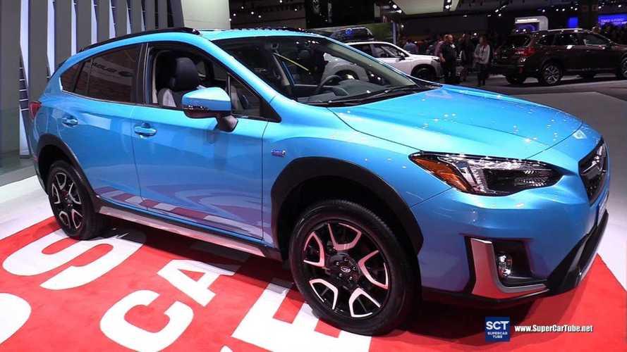 Subaru Crosstrek Hybrid PHEV Debuts At LA Auto Show: Videos