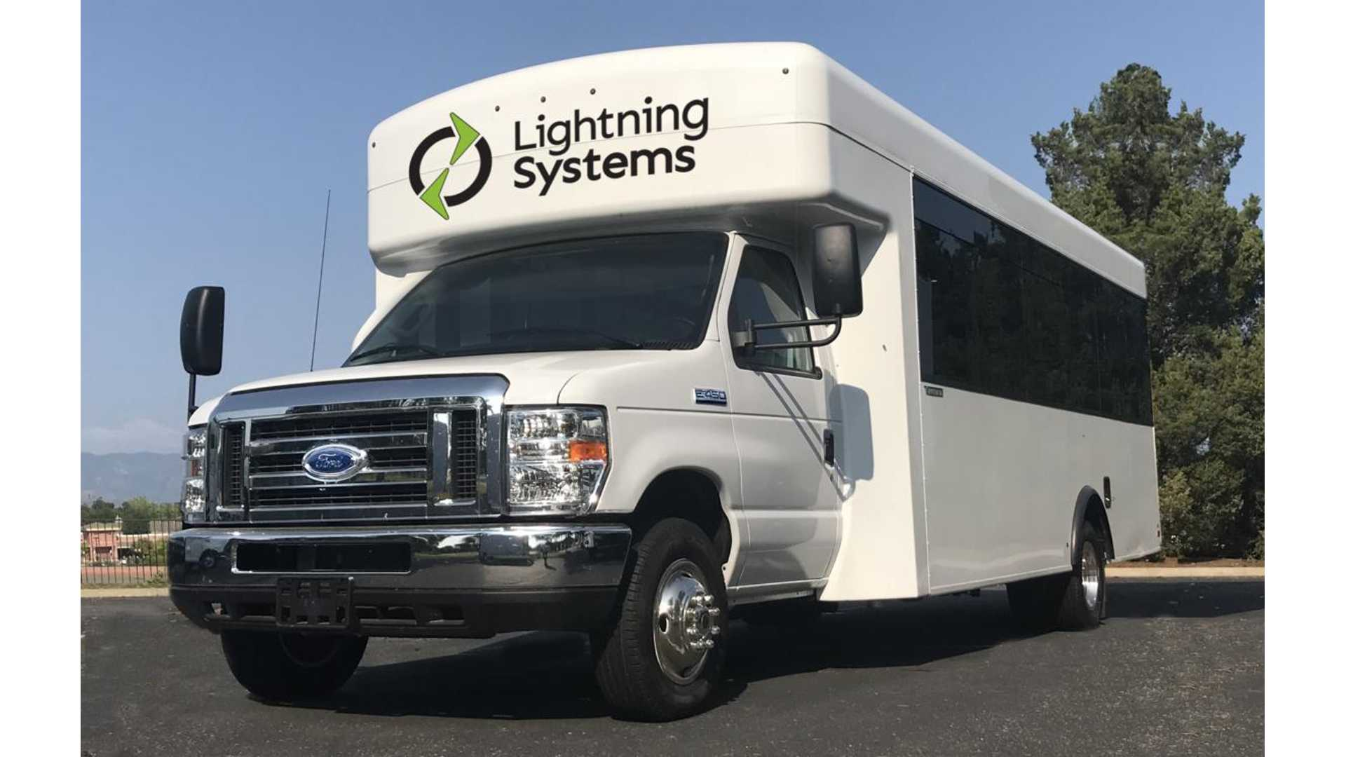 Ford E-450 Electric Shuttle Bus Becomes Real Thanks To Lightning