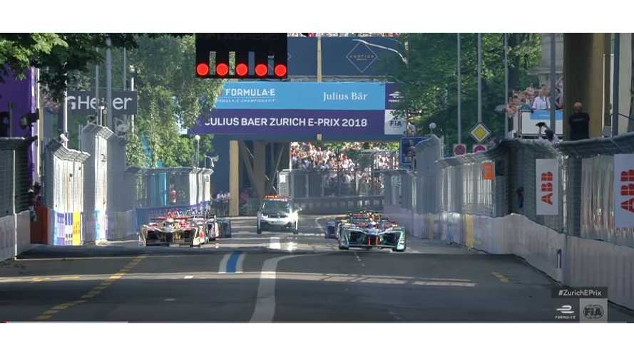 Watch Race Highlights From Formula E E-Prix In Zurich