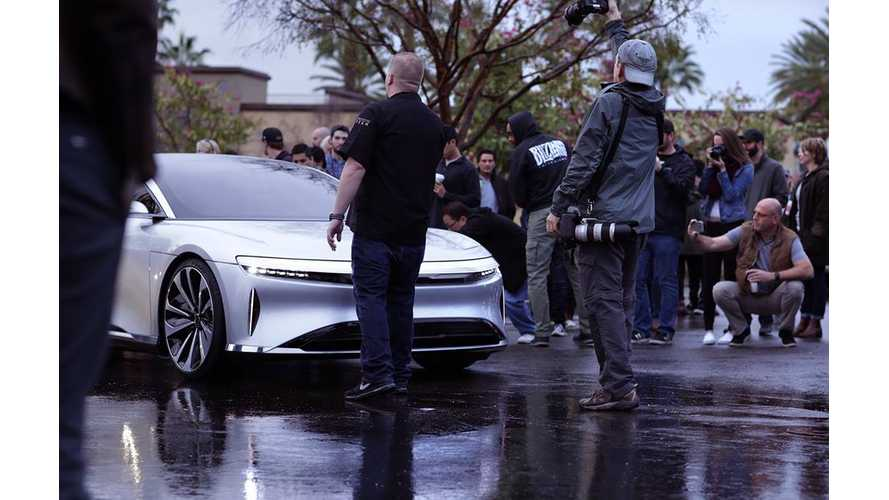 Check Out The 400 Mile Lucid Air At Recent Ride Event - Videos