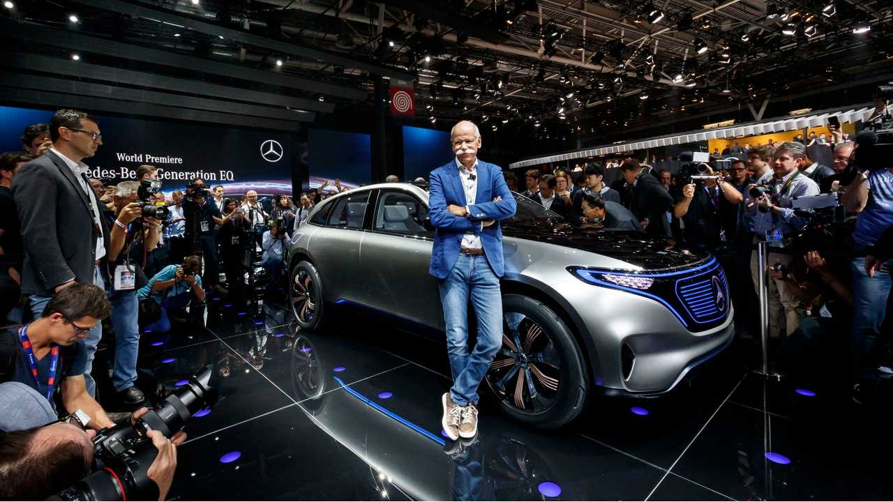 Mercedes CEO: We Aim To Be The Leader In The Premium Electric Vehicle Segment