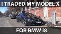 Bjørn Trades In Problematic Tesla Model X For BMW i8