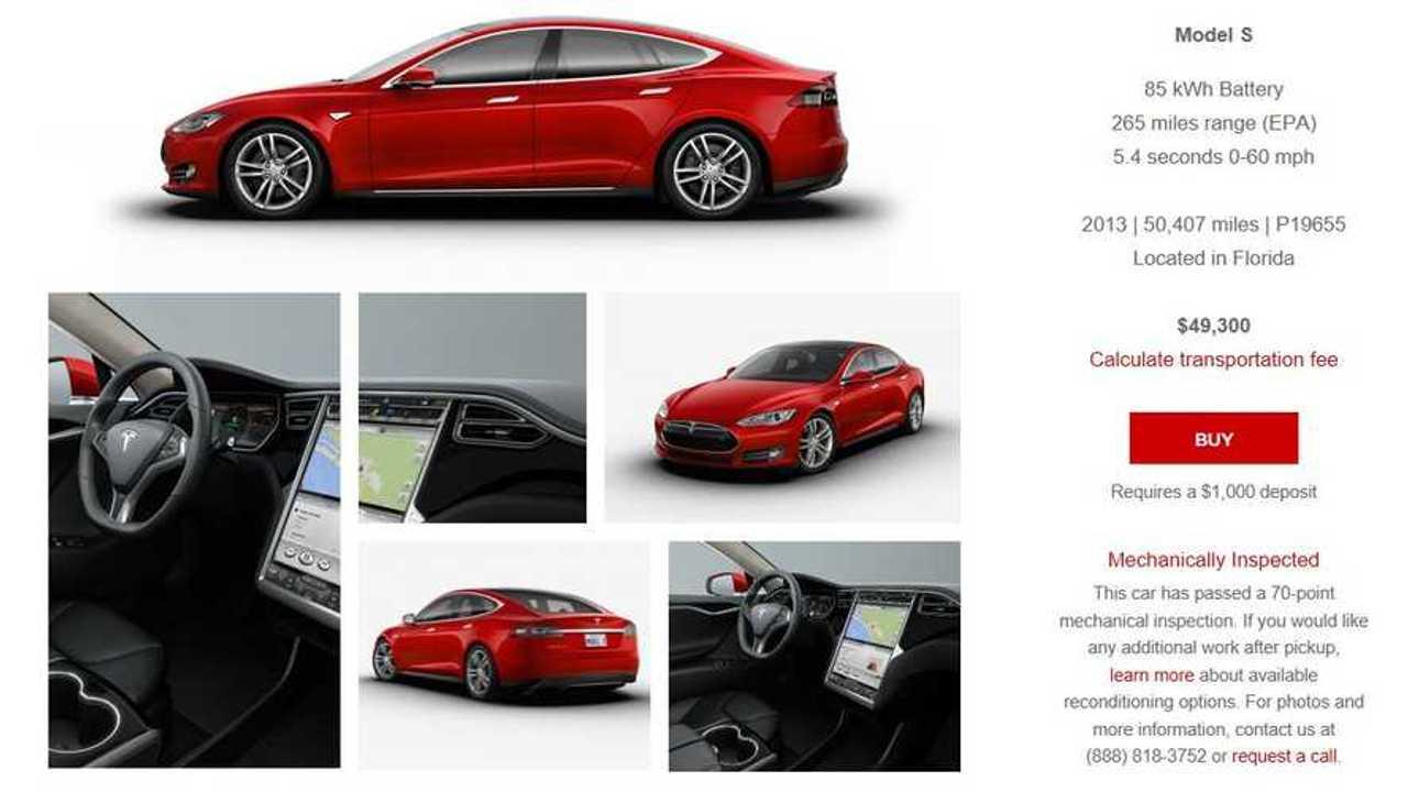Tesla Model S CPO 3