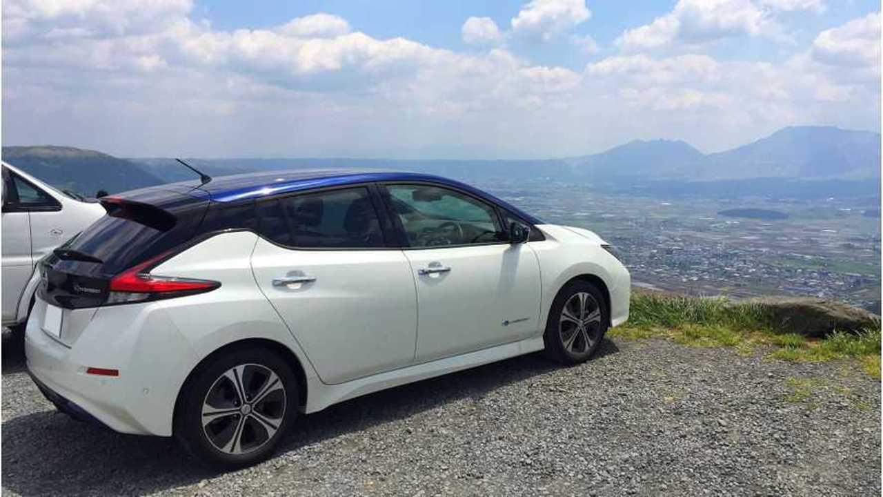 Nissan LEAF Sales Up 1,292% In Japan In September 2018