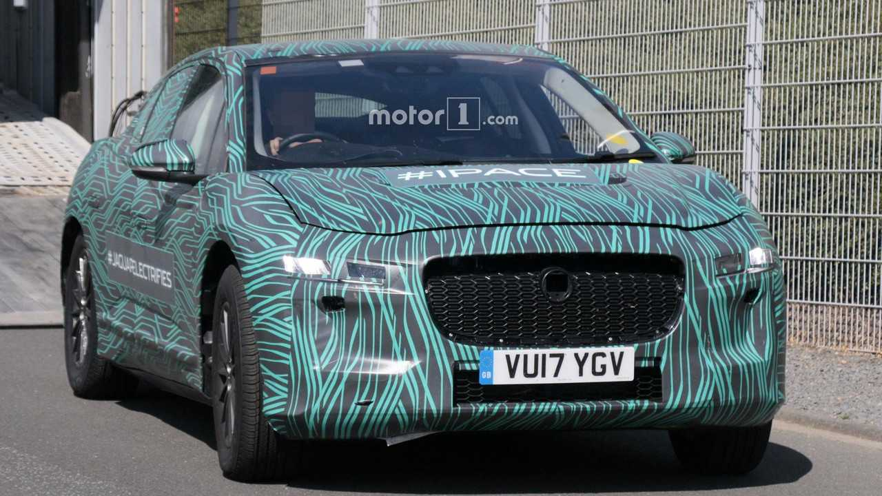 Spy Photographer Gets Up Close And Personal With Jaguar I-Pace