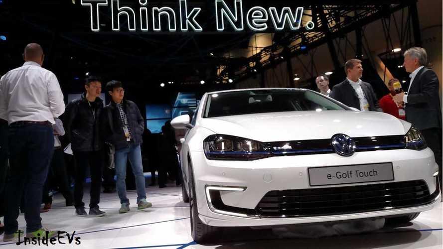 2017 Volkswagen e-Golf: 35.8 kWh Battery, 124 Mile/200km Range (Update)