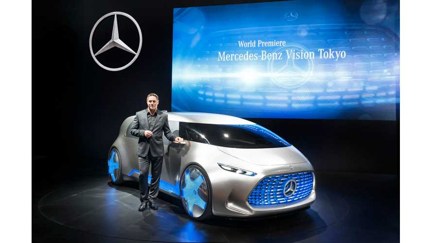 Mercedes-Benz To Launch 4 Electric Cars By 2020