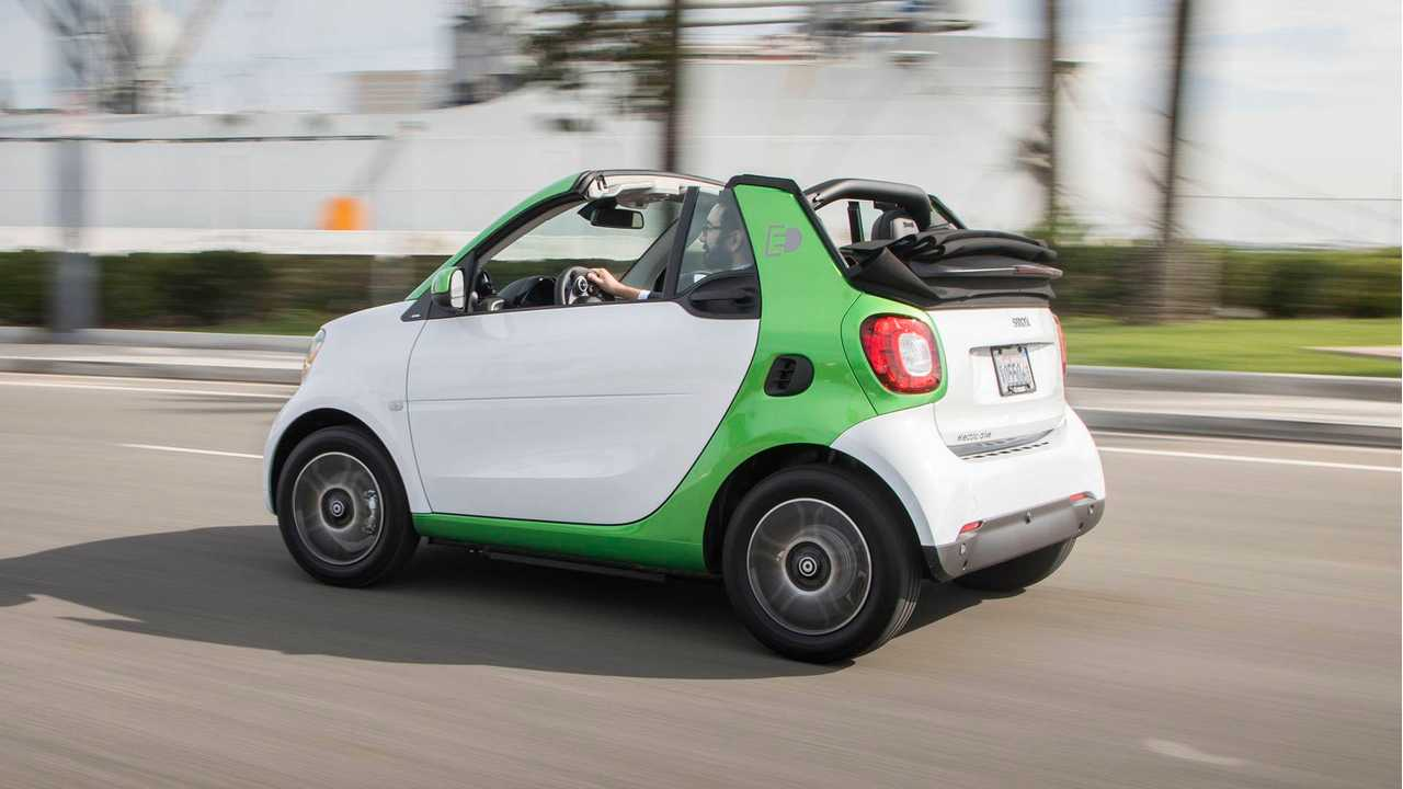 2018 Smart Fortwo Electric Drive Cabrio Review - Take Two