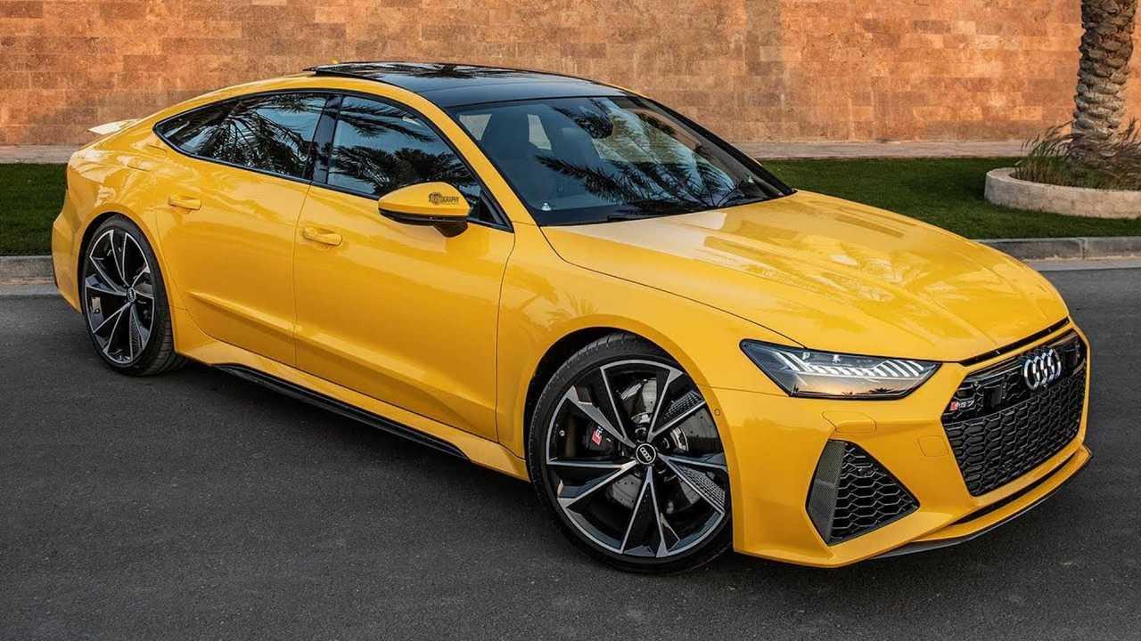 2021 audi rs7 vegas yellow is an achingly beautiful hatchback