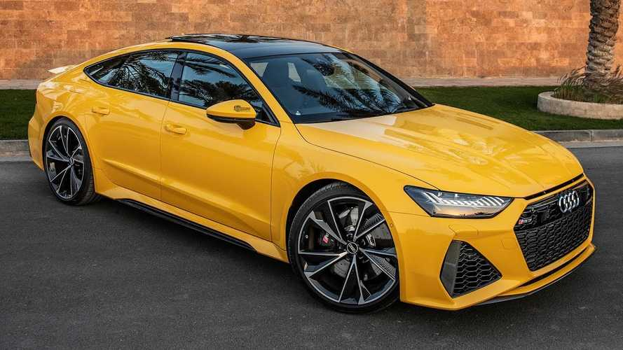 2021 Audi RS7 Vegas Yellow is an achingly beautiful hatchback