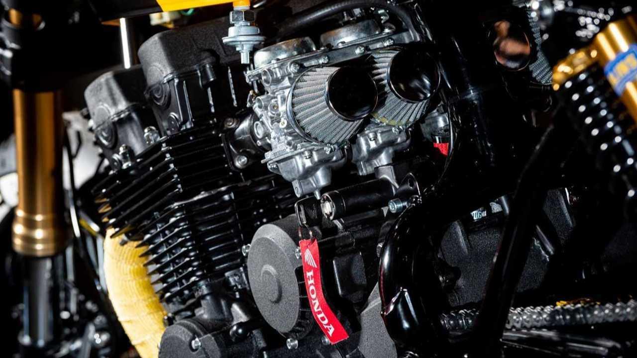 Custom Honda CB750 F2 Cafe Racer