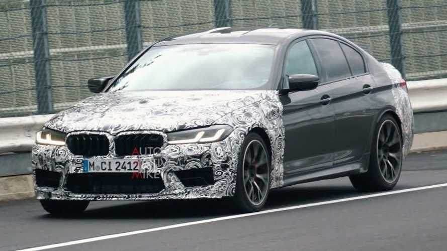 BMW M5 CS spied devouring the Nurburgring at full tilt