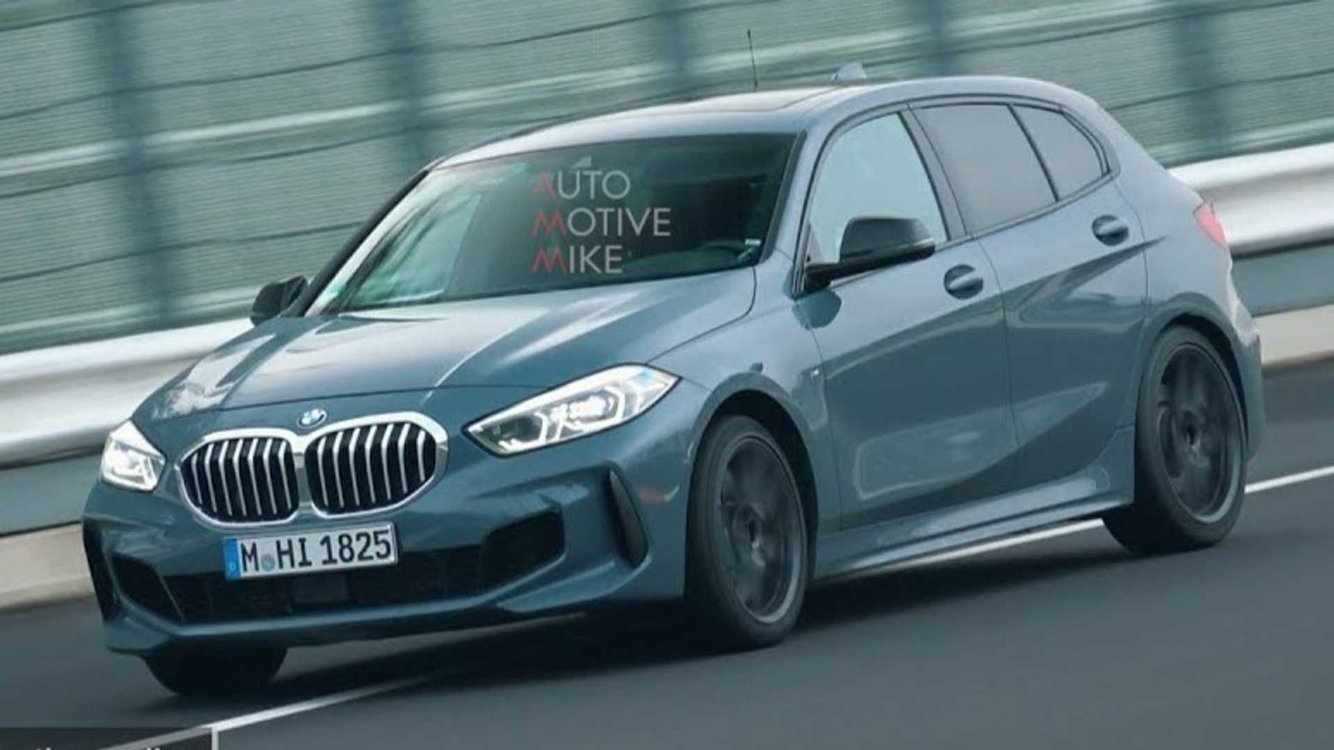 BMW 128ti Looks Like A Proper FWD Hot Hatch At Nurburgring