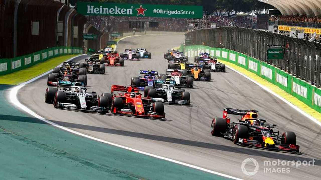 Brazilian GP 2019 start of race