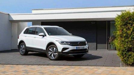Plug-in hybrid Volkswagen Tiguan costs £35,515