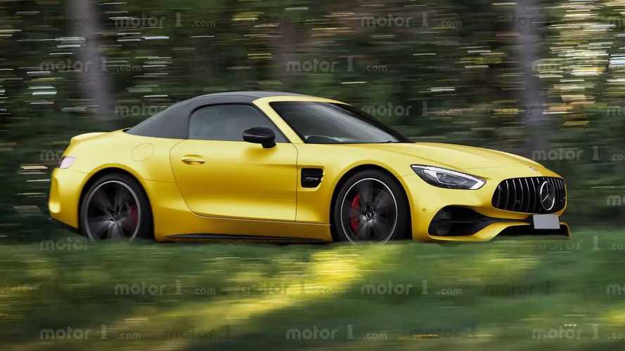 Mercedes SL, i rendering della prossima in versione AMG